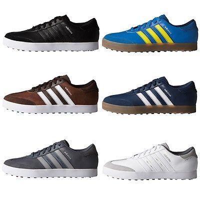 Adidas Golf Adicross V Street Mens Spikeless Golf Shoes (Wide Width)