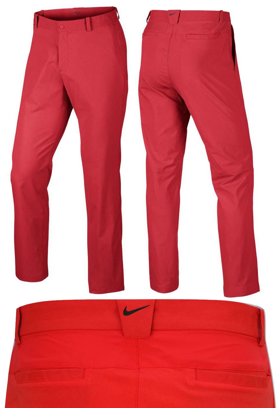 a6164b8a0286 Nike Golf Dri Fit Modern Tech Pants Mens Golf Trousers – RED ALL SIZES –  RRP£65